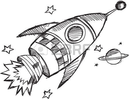 11655623-doodle-sketch-rocket-vector-illustration, rocket